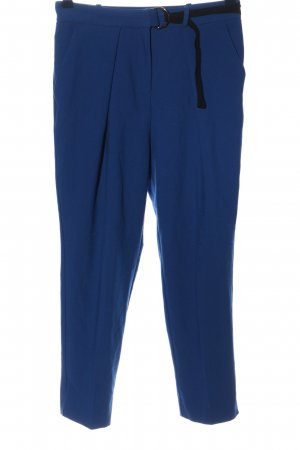 Topshop Stoffhose blau Business-Look