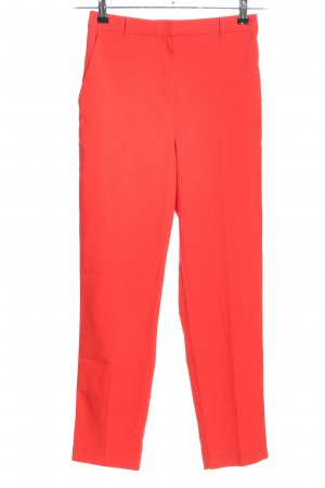 Topshop Stoffhose rot Casual-Look