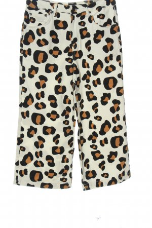 Topshop Stoffhose Animalmuster Casual-Look