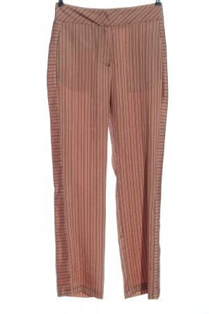 Topshop Stoffhose pink-schwarz Allover-Druck Casual-Look
