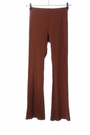 Topshop Stoffhose rot Streifenmuster Casual-Look
