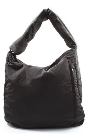 Topshop Stoffen tas zwart casual uitstraling