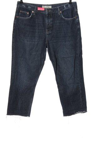 Topshop Jeans a 3/4 blu stile casual