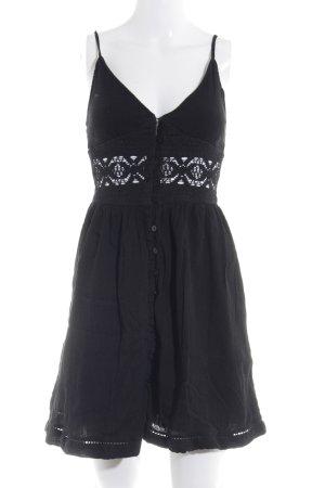 Topshop Strandkleid schwarz