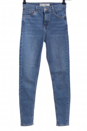 Topshop Stretch Jeans blau Casual-Look