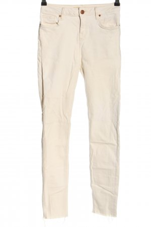Topshop Stretch Jeans creme Casual-Look