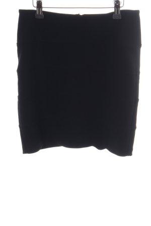 Topshop Stretchrock schwarz Casual-Look