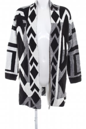 Topshop Strick Cardigan abstraktes Muster Casual-Look
