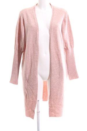 Topshop Strick Cardigan pink meliert Casual-Look