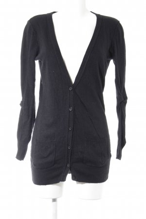 Topshop Strick Cardigan schwarz Casual-Look