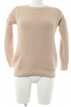 Topshop Strickjacke altrosa Casual-Look