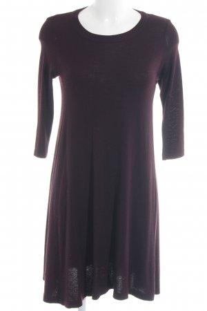 Topshop Strickkleid bordeauxrot Casual-Look