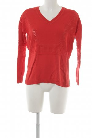 Topshop Strickpullover rot
