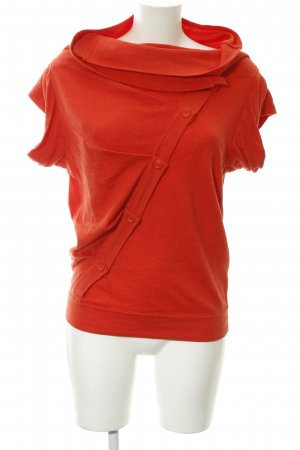 Topshop Strickshirt hellrot Casual-Look