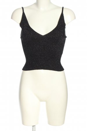 Topshop Knitted Top black casual look