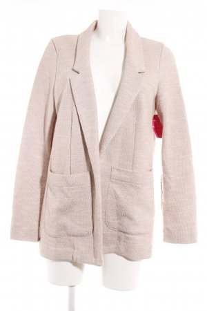 Topshop Sweatblazer beige Casual-Look
