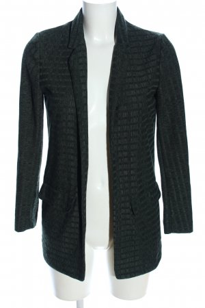 Topshop Sweatblazer khaki Streifenmuster Business-Look