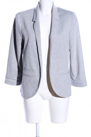 Topshop Sweatblazer hellgrau meliert Business-Look