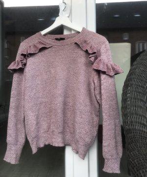 Topshop Sweater mit Volant
