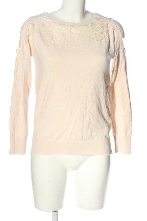 Topshop Sweatshirt creme Casual-Look