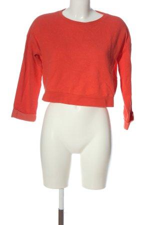 Topshop Sweatshirt rot Casual-Look