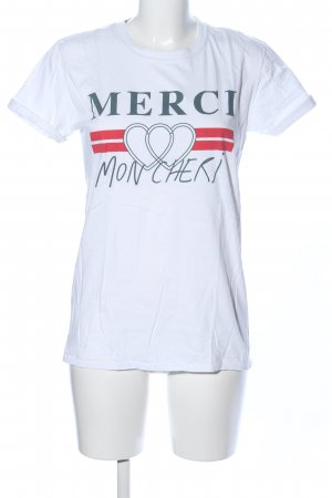 Topshop T-Shirt Motivdruck Casual-Look