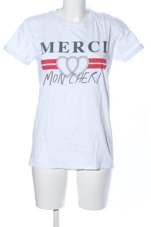 Topshop T-Shirt themed print casual look