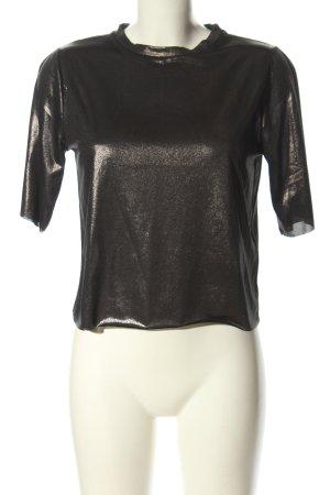 Topshop T-Shirt bronzefarben meliert extravaganter Stil