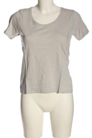 Topshop T-Shirt hellgrau Casual-Look