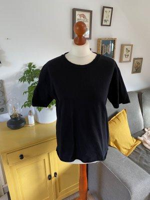 Topshop T-Shirt Basic 38 schwarz Oversized