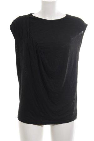 Topshop T-Shirt schwarz Business-Look