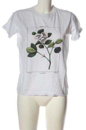 Topshop T-Shirt Blumenmuster Casual-Look