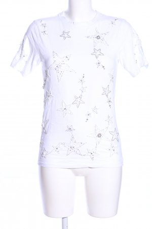Topshop T-Shirt white allover print casual look