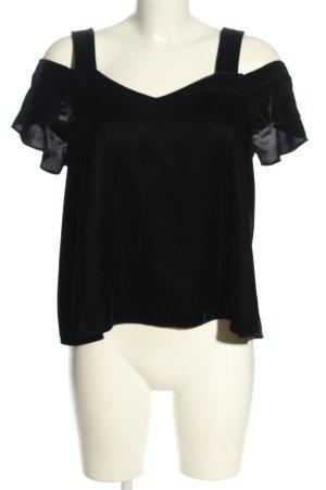 Topshop T-shirt zwart casual uitstraling