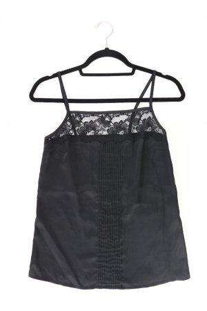 Topshop Top Größe 34 schwarz aus Polyester
