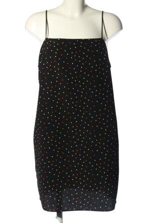 Topshop Pinafore dress spot pattern casual look