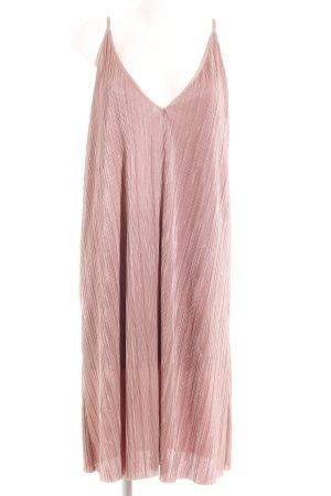 Topshop Vestido tipo overol color rosa dorado estilo fiesta