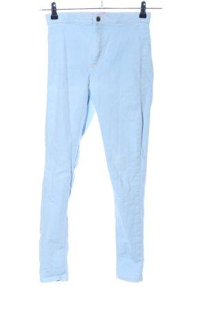 Topshop Treggings blau Casual-Look
