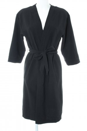 Topshop Trenchcoat schwarz Business-Look