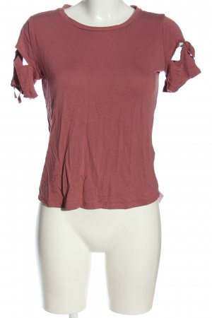 Topshop T-Shirt braun Casual-Look