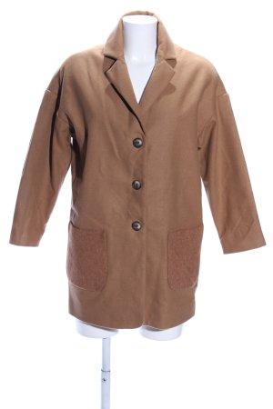 Topshop Abrigo de entretiempo marrón look casual