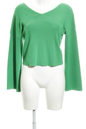 Topshop V-Ausschnitt-Pullover mehrfarbig Elegant