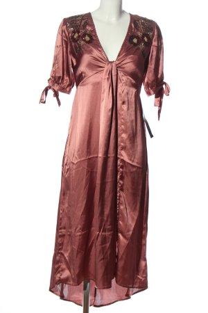 Topshop Vestido mullet rojo elegante