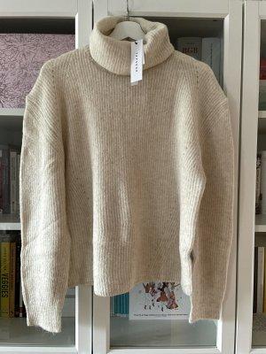 Topshop weicher Strick-Pullover in beige Gr. L