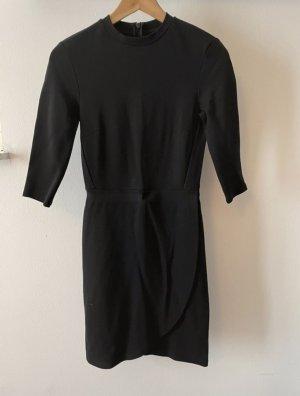 Topshop Wickelkleid in schwarz