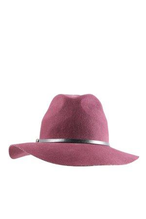 Topshop Wollen hoed roze casual uitstraling