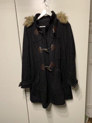 Topshop Chaqueta de lana negro