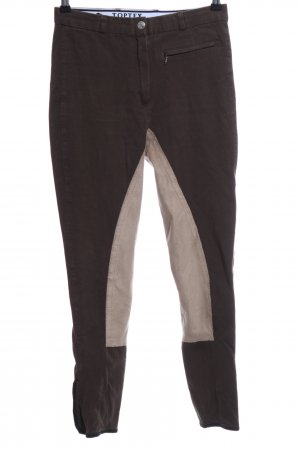 Riding Trousers black-natural white casual look