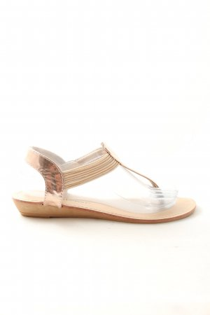 Topway Dianette Sandals gold-colored casual look