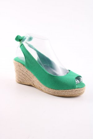 Topway Wedge Pumps green casual look